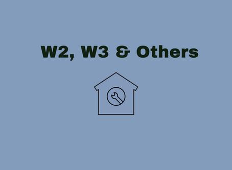 W2, W3 & Others DIO(B) Planned Maintenance