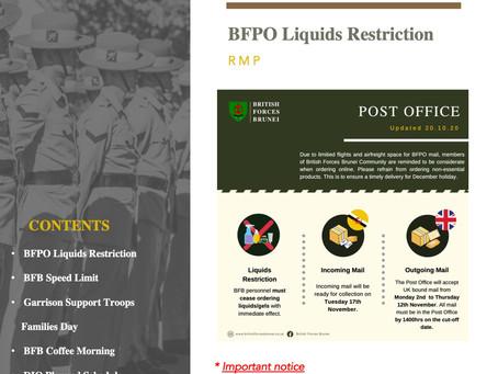 BFB Bulletin 30.10.20