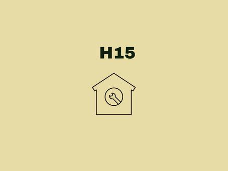 H15 DIO(B) Planned Maintenance