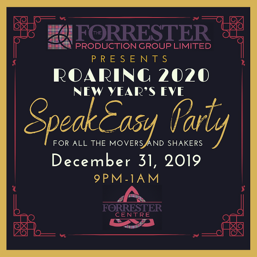 New Year's Eve Speak Easy Party