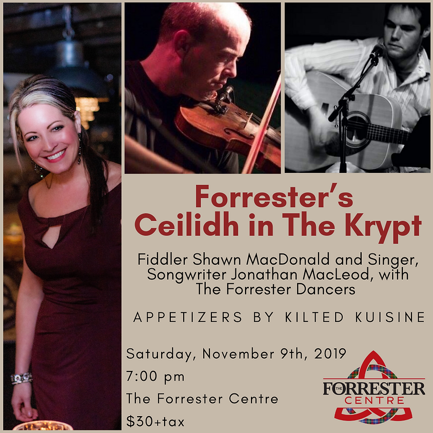 Forrester's Ceilidh in The Krypt - A Signature Sensory Experience