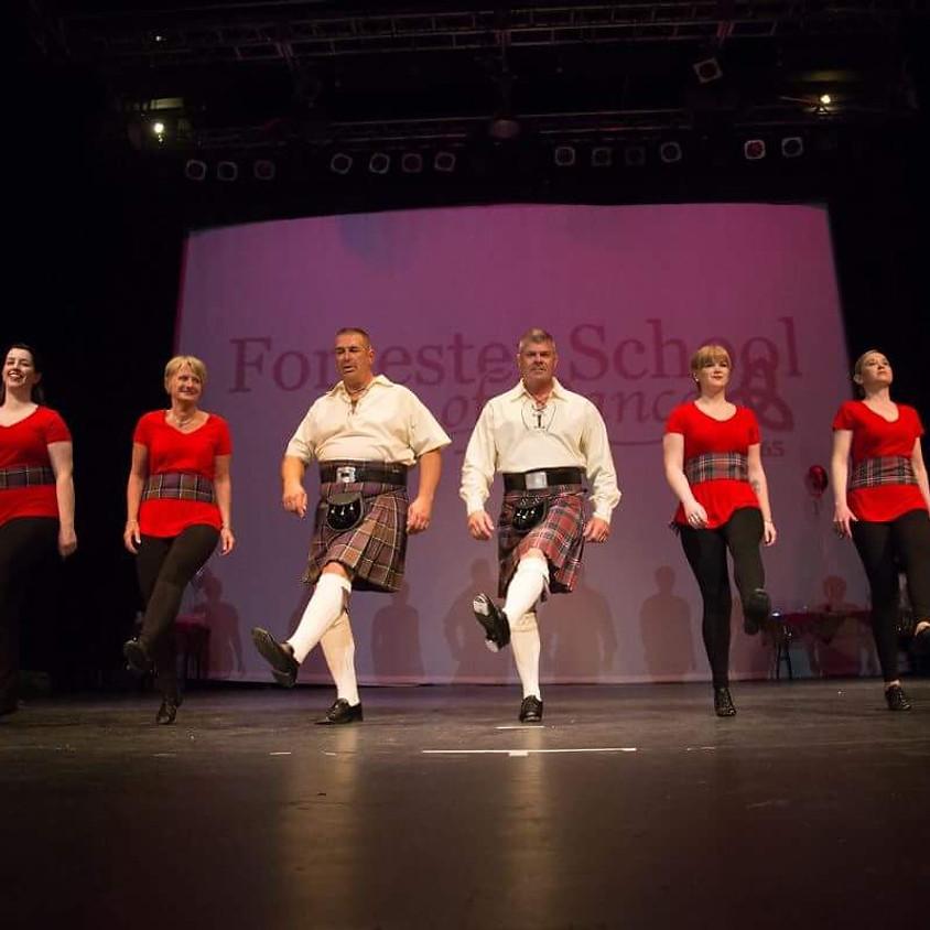 Spirited Steps - Beginner Adult Step Dance Workshop & Social