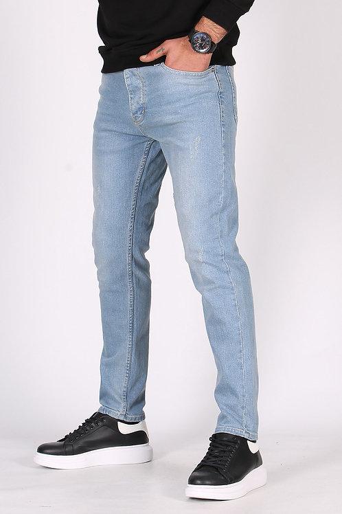 Bakubazar Buz Mavisi Slim Fit Kişi Jeans