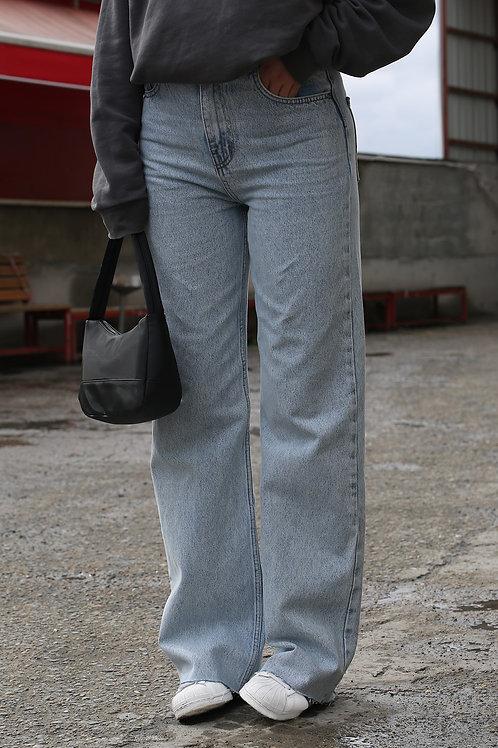 Bakubazar Açiq Mavi Plazzo Jean
