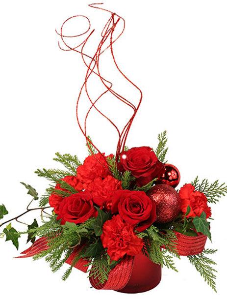Glitter Rose Christmas Magic
