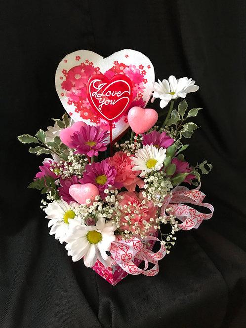 Valentine Heart Box Design