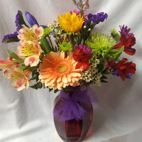 Florist's Choice Mixed Vase