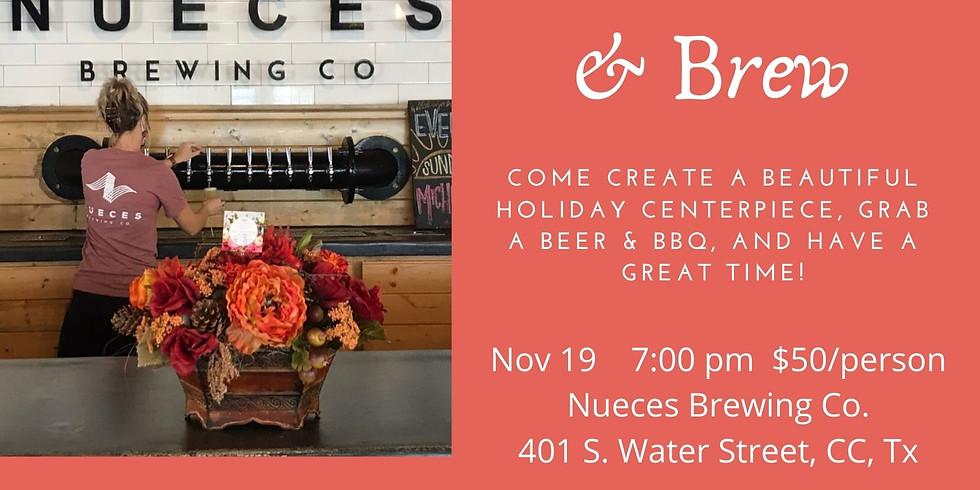 Blossoms & Brew-Nov. 19, 2020
