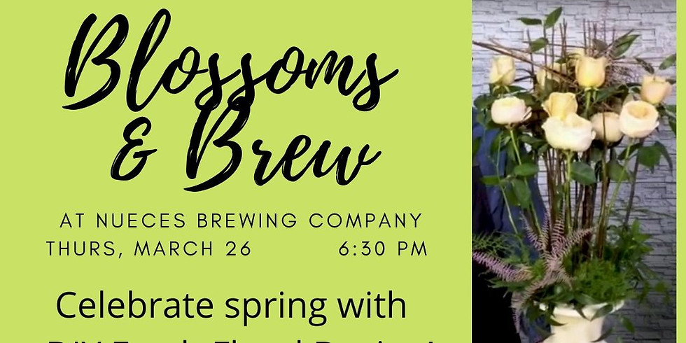Blossoms & Brew-Stylized Roses