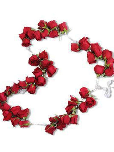 Red Rose Casket Rosary