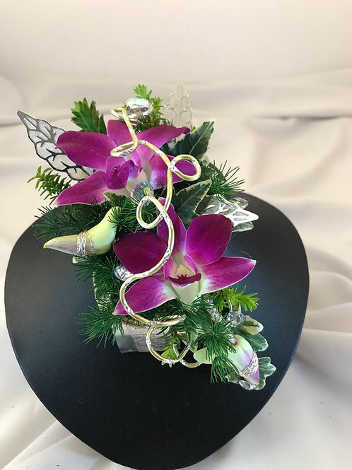 Women's floral jewelry