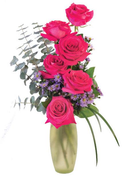 Roses Vase (Half Dozen)
