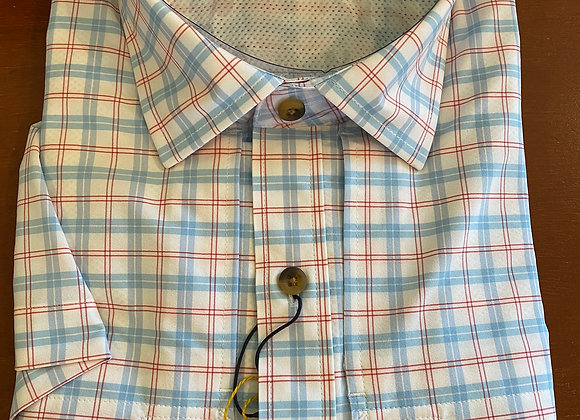Peter Millar Men's Performance S/S Woven