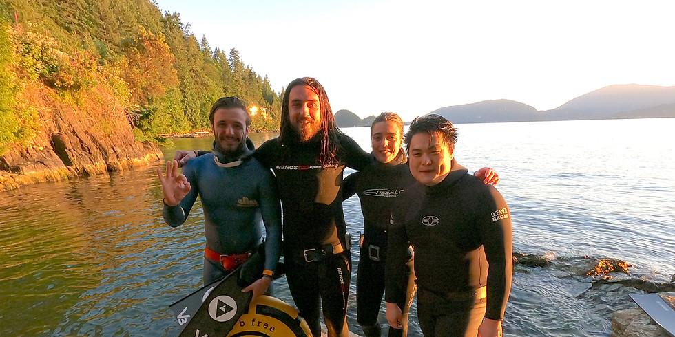 Freediver Course - Open Water Wave 1 - Nanaimo, BC