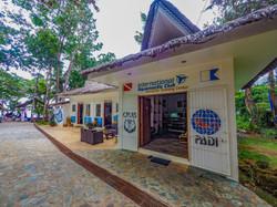 The Dive Shop Entrance