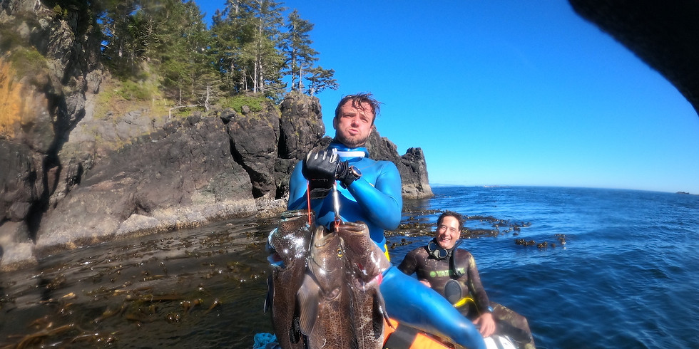 Spearfishing Expedition - Lingcod Special - Ucluelet, BC