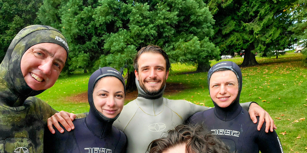 Beginner Freediving Course - Open Water Wave 1 - Vancouver, BC