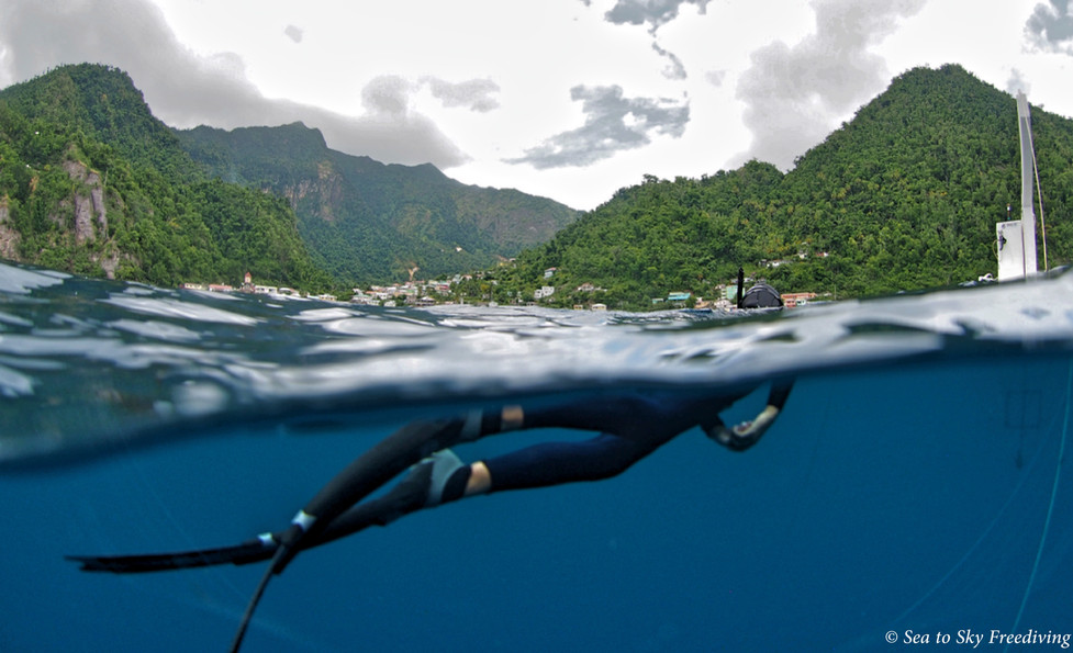 Soufriere and its waters