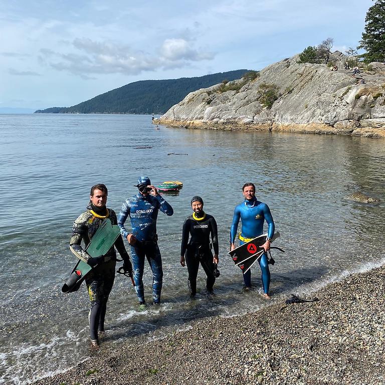 Intro Freediver Course - Lap 1 - Vancouver, Canada