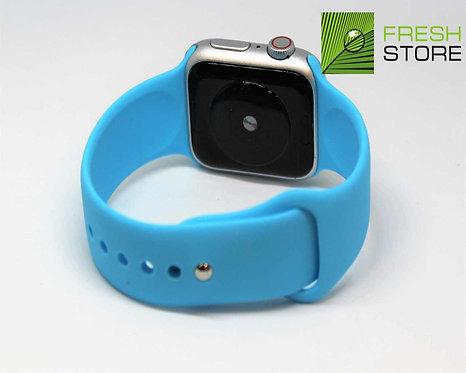 Ремешок силиконовый для Apple Watch цвет голубой 38/40ММ