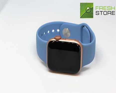 Ремешок силиконовый для Apple Watch цвет светло-синий 38/40ММ