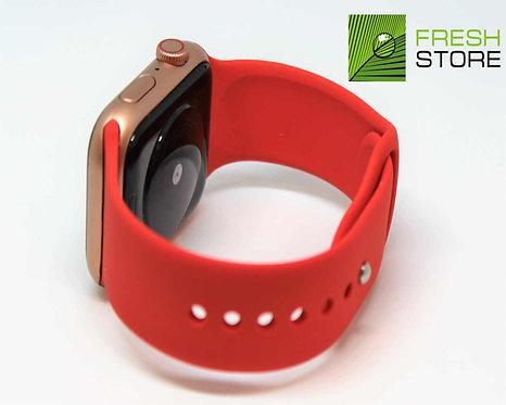 Ремешок спортивный Gurdini для Apple Watch цвет красный 42/44ММ