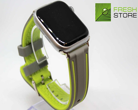 Ремешок спортивный для Apple Watch цвет Серо-зеленый 38/40ММ