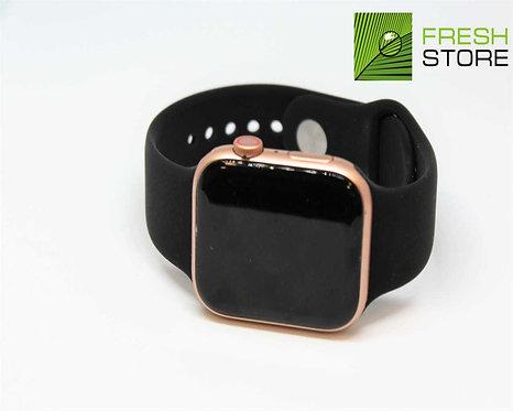 Ремешок силиконовый для Apple Watch цвет черный 42/44ММ