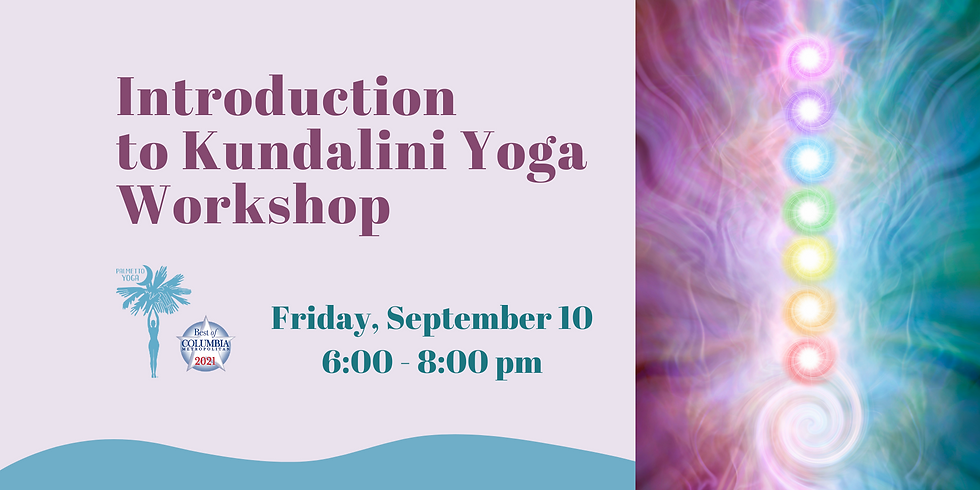 SOLD OUT - Introduction to Kundalini Yoga