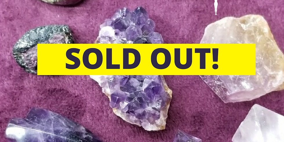 PAST EVENT  - SOLD OUT -  Crystals 101 w/ Jen White, owner of Belladonnas in Columbia
