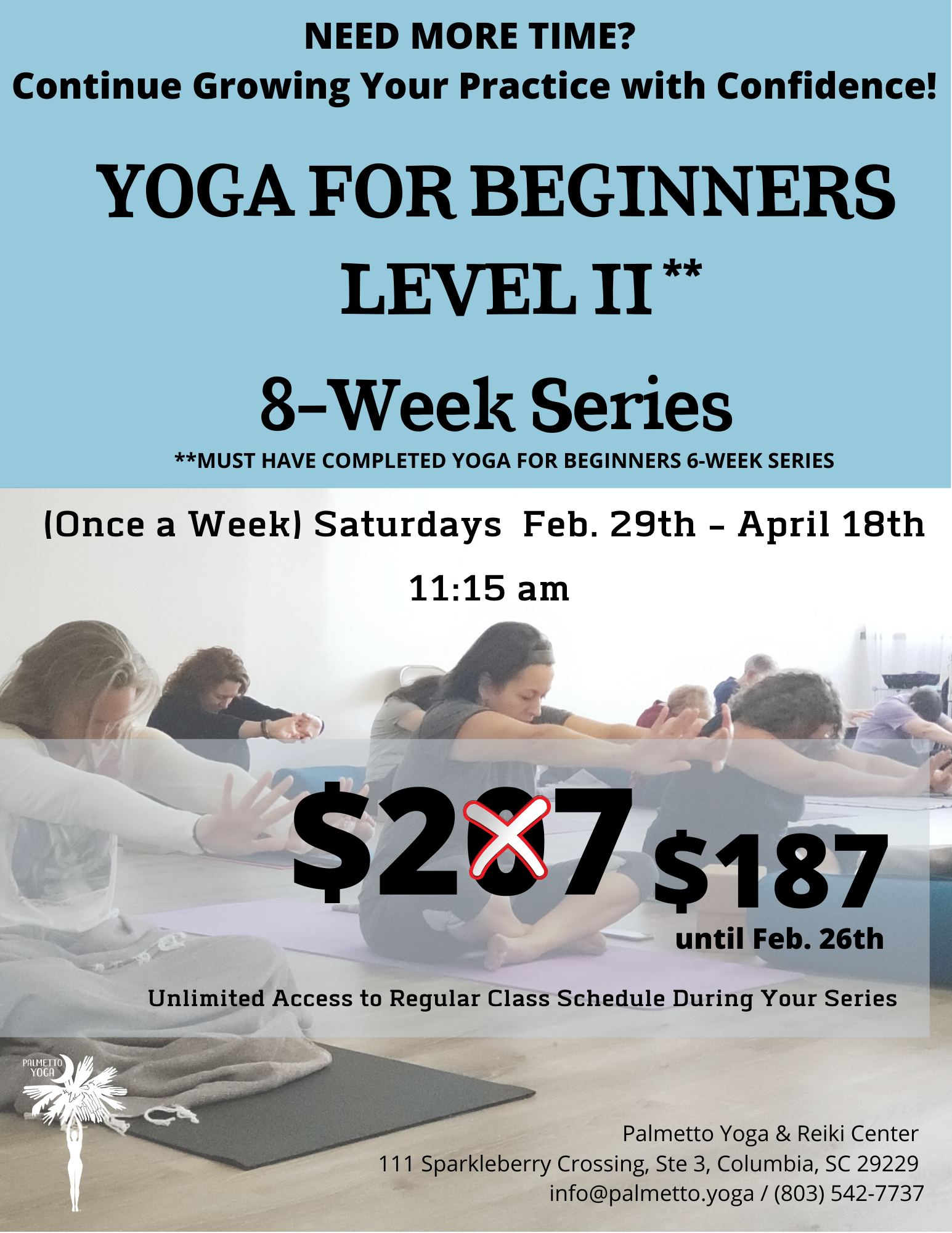 YOGA FOR BEGINNERS LEVEL II