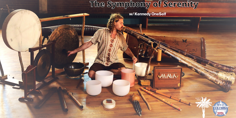 SOLD OUT - Sunday 3:30 - 5:00 pm Symphony of Serenity - Mystical Music Meditation Journey w/ Kennedy OneSelf