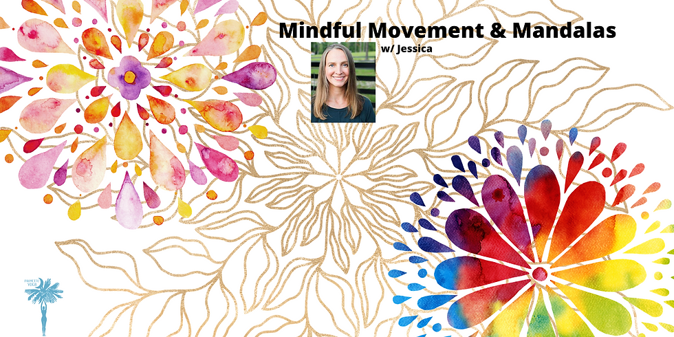 PAST EVENT - Sold Out - Gentle Yoga and Paint Day w/ Jessica
