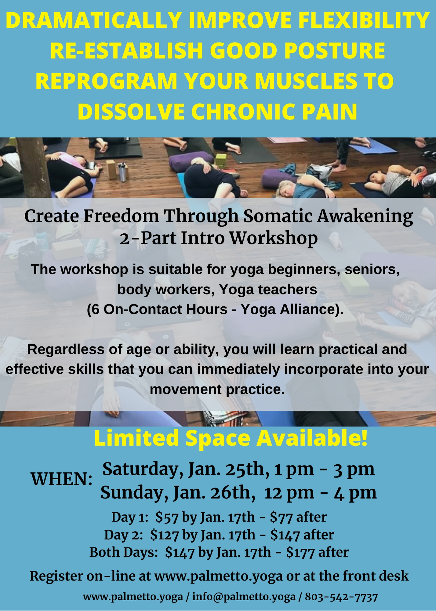 GENTLE SOMATIC YOGA - jan 25
