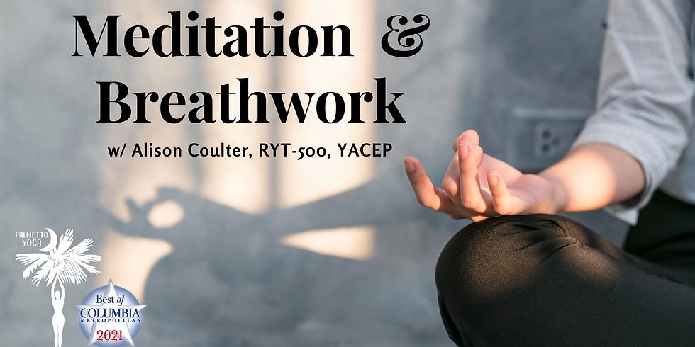 SOLD OUT - Meditation & Breathwork Workshop