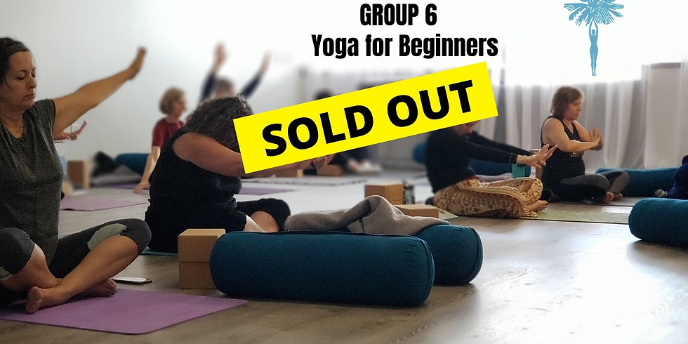 PAST EVENT  - YOGA FOR BEGINNERS - 6-Week Series