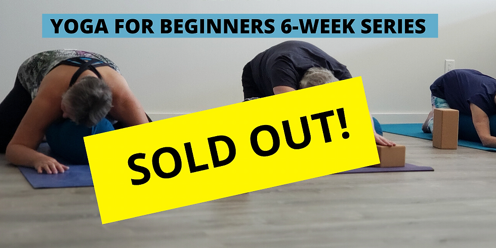 PAST EVENT = Yoga for Beginners 6-Week Series
