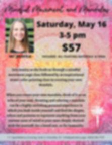 Mindful Movement and Mandala - May 16.jp