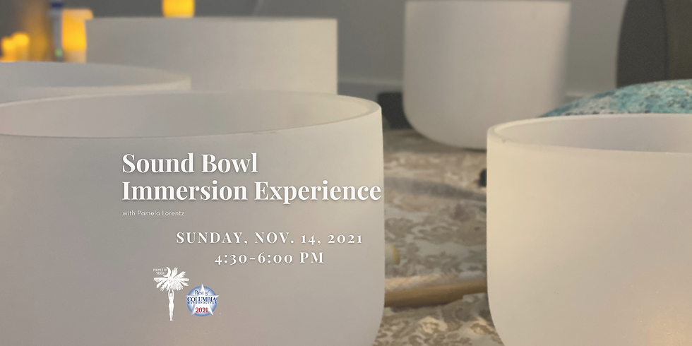 Sound Bowl Immersion Experience