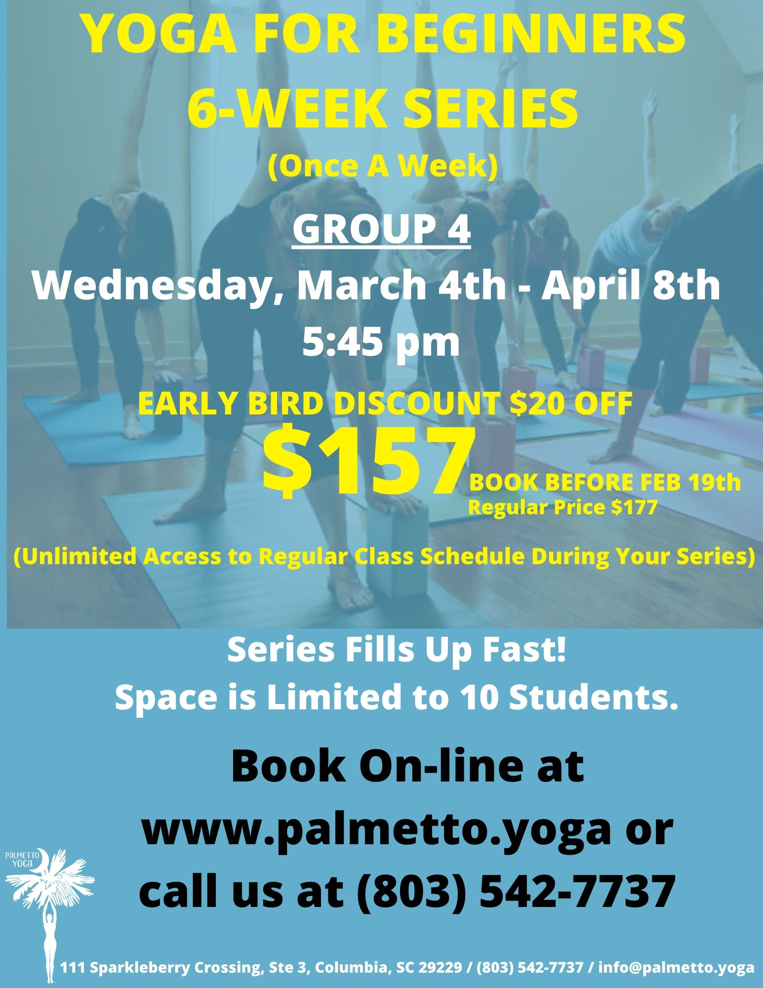 Yoga for Beginners - March 4