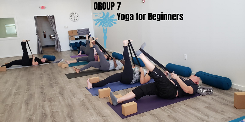 PAST EVENT  - Sold Out - Yoga for Beginners - 6-Week Series (Sept. 30th)