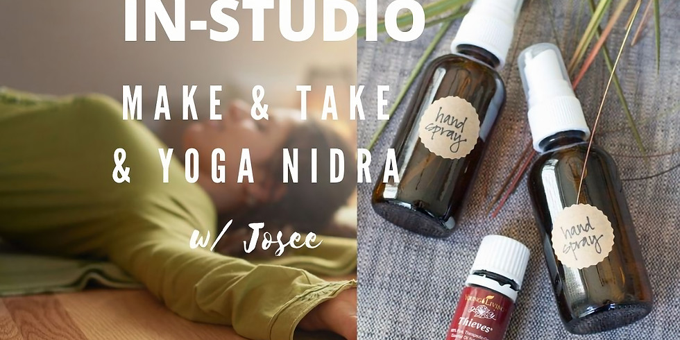 PAST EVENT - Make & Take & Yoga Nigra