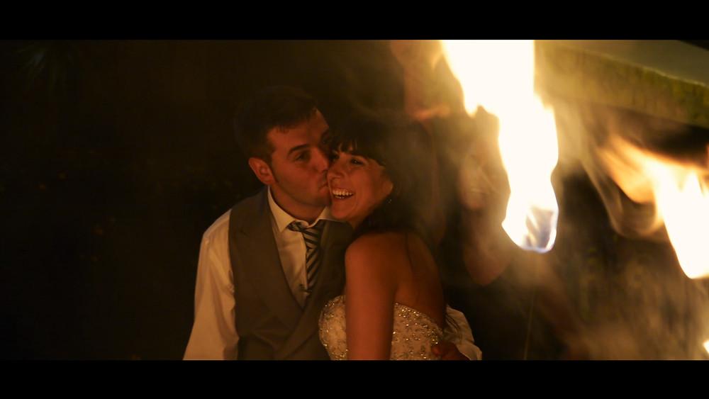 Pareja de recién casados en el Palacio de Cimiano