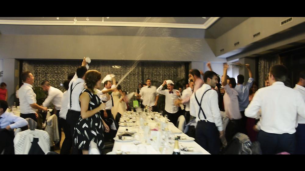 Fiesta en una boda en el Palacio de Cimiano