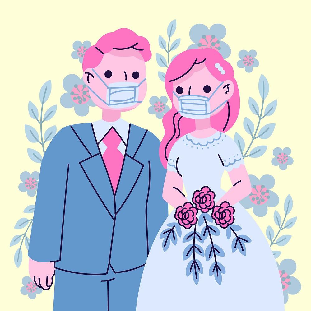 Bodas y coronavirus: ¿Cómo afectará el COVID a las bodas de 2021?