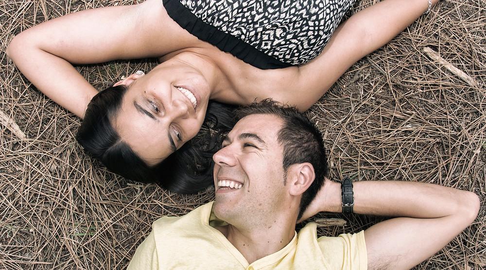 Recuerdo especial de pareja en Cantabria