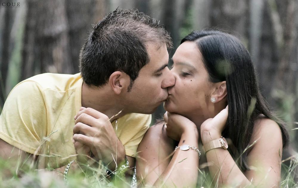 Sesión fotográfica de pareja en Liencres