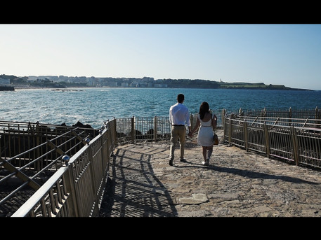 Vídeo invitación de boda emocional y original en Santander
