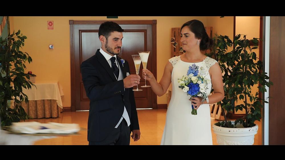 Una boda especial y divertida en el Balneario de Puente Viesgo