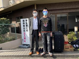 2020/10/28 入国制限後初の配属!!